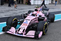 Nikita Mazepin, Sahara Force India VJM10, aero sensors