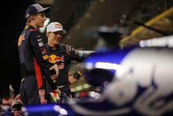 Brendon Hartley, Scuderia Toro Rosso and Pierre Gasly, Scuderia Toro Rosso at the Scuderia Toro Ross