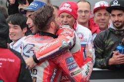 Yarış galibi Andrea Dovizioso, Ducati Team, 3. Danilo Petrucci, Pramac Racing