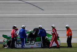 Jeffrey Earnhardt, Circle Sport - The Motorsports Group Chevrolet, nach Crash