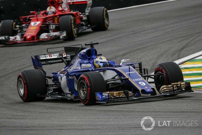 16: Marcus Ericsson, Sauber C36