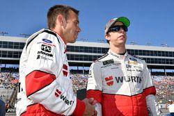 Brad Keselowski, Team Penske Ford and Paul Wolfe