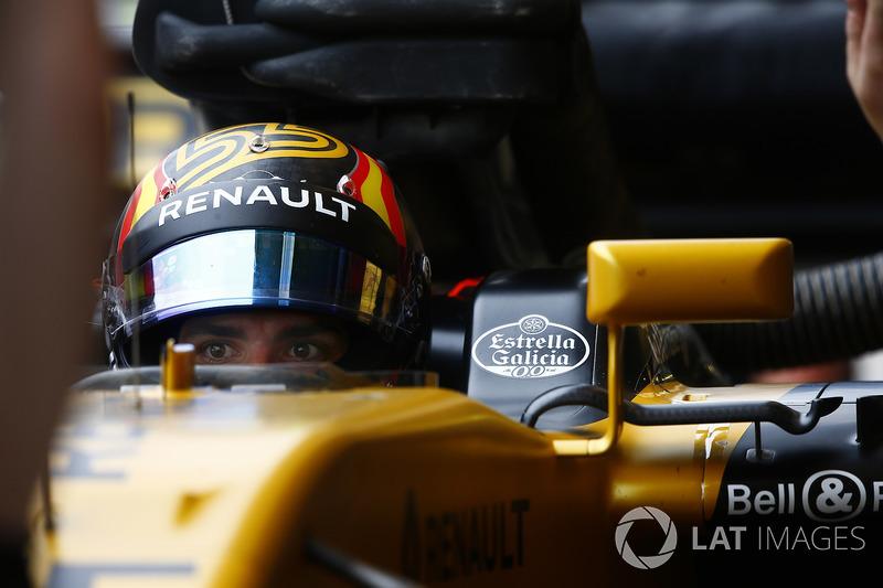 Carlos Sainz, Renault'a geçti