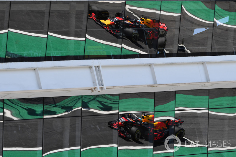 Daniel Ricciardo, Red Bull Racing RB13 reflejo