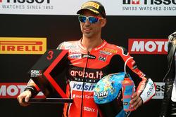 Marco Melandri, Aruba.it Racing-Ducati SBK Team third in superpole