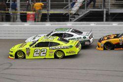 Paul Menard, Team Penske, Ford Mustang Menards/Richmond, Kevin Harvick, Biagi-DenBeste Racing, Ford
