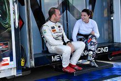 #86 Michael Shank Racing with Curb-Agajanian Acura NSX, GTD: Katherine Legge, #63 Scuderia Corsa Fer
