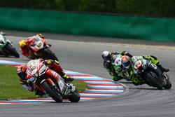 Lorenzo Savadori, Milwaukee Aprilia, Yonny Hernandez, Pedercini Racing