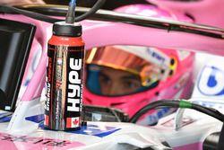La bouteille d'Esteban Ocon, Force India VJM11
