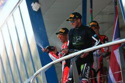 Podio: Marco Melandri, Ducati Team, Jonathan Rea, Kawasaki Racing