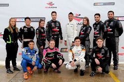 2017 NASCAR Drive for Diversity Combine participants pose for a group