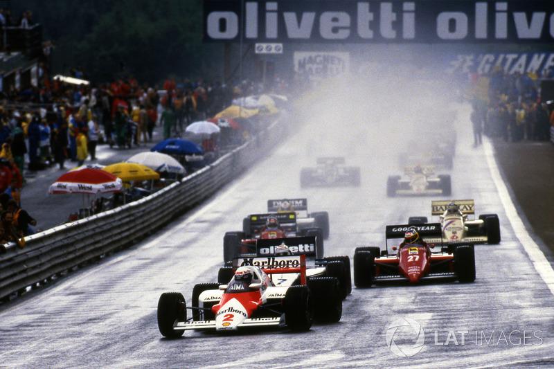 Гран При Бельгии Формулы 1 1985