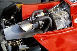 El turbocompresor instalado en el Ferrari 126CK