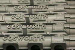 Motor Cosworth en la fábrica de Cosworth en Northampton