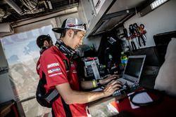 Monster Energy Honda Team member