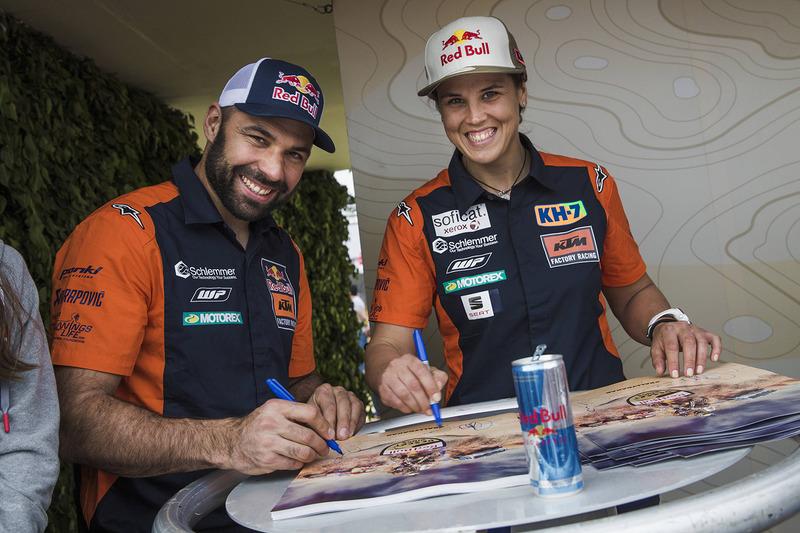 Antoine Meo, Laia Sanz, Red Bull KTM Factory Team
