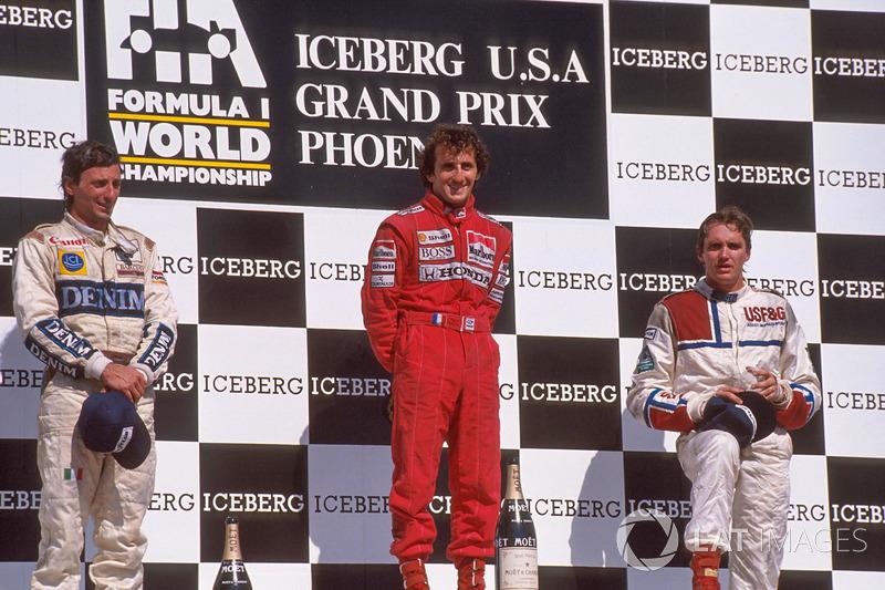 Alain Prost - McLaren MP4 / 5-Honda - 1989 GP de Estados Unidos