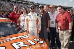 Daniel Suarez, Joe Gibbs Racing, Toyota Camry ARRIS Guests