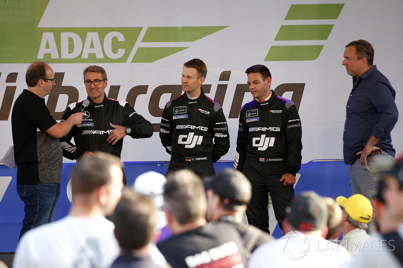 #190 Mercedes-AMG Team Driving Academy Mercedes-AMG GT4: Bernd Schneider, Patrick Simon, Christian Gebhardt, Jethro Bovingdon