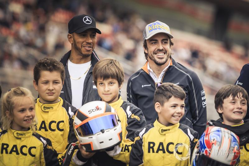 Rajongós csütörtök Barcelonában - F1 2018