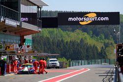 #51 AF Corse Ferrari 488 GTE EVO: Alessandro Pier Guidi, James Calado and Motorsport.com signage