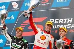 Podyum: Yarış galibi Scott McLaughlin, DJR Team Penske Ford, 2. David Reynolds, Erebus Motorsport Holden, 3. Craig Lowndes, Triple Eight Race Engineering Holden