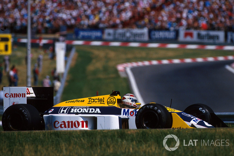 23. Nelson Piquet - Williams FW11B-Honda - 1987 Macaristan GP