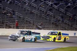 Ryan Truex, Hattori Racing Enterprises Toyota, Matt Crafton, ThorSport Racing Toyota