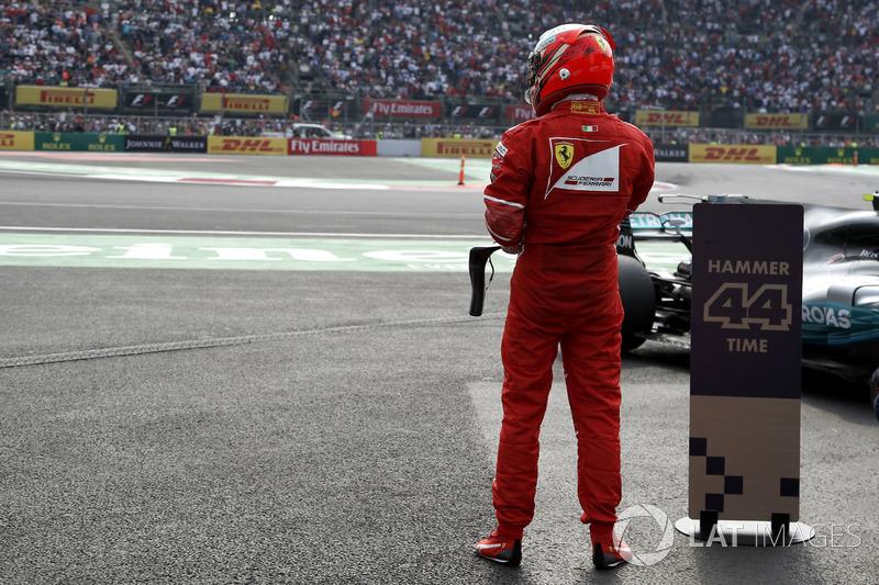 Tercero, Kimi Raikkonen, Ferrari
