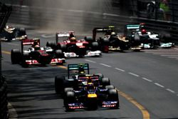 Mark Webber, Red Bull Racing RB8, Nico Rosberg, Mercedes F1 W03, Lewis Hamilton, McLaren MP4-27, Fer