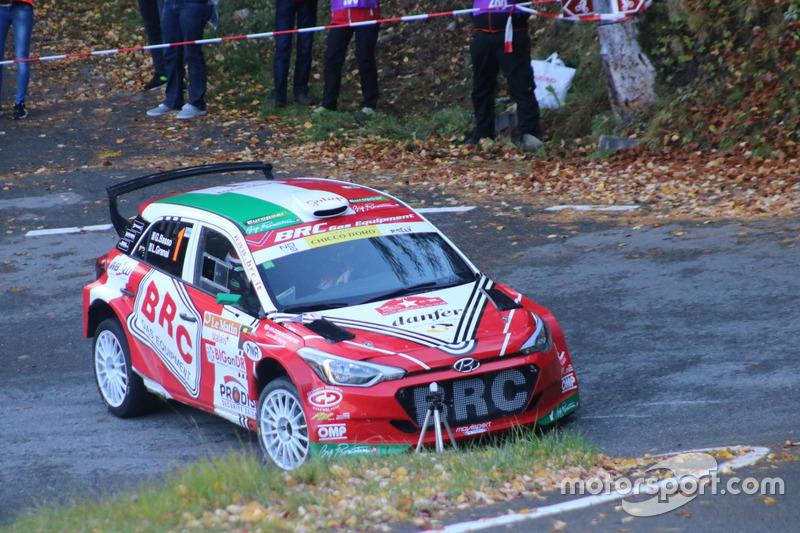 Giandomenico Basso, Lorenzo Granai, Hyundai i20 R5, BRC Racing
