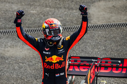 Race winner Max Verstappen, Red Bull Racing