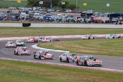 Norberto Fontana, JP Carrera Chevrolet, Martin Serrano, Coiro Dole Racing Chevrolet, Matias Rossi, N