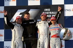 Podium: 1. Jenson Button, Brawn; 2. Rubens Barrichello, Brawn; 3. Jarno Trulli, Toyota