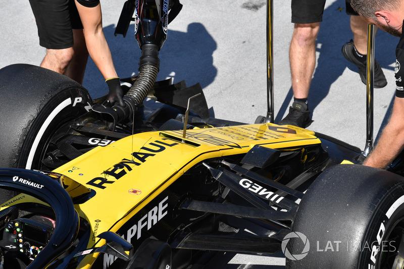 Renault Sport F1 Team R.S. 18 burun