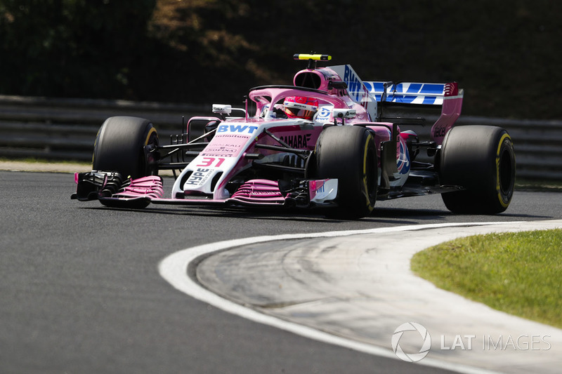 18. Esteban Ocon, Force India VJM11