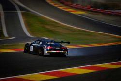 #55 Attempto Racing Audi R8 LMS: Pierre Kaffer, Kim Luis Schramm, Clemens Schmid spins