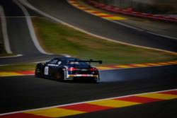 #55 Attempto Racing Audi R8 LMS: Pierre Kaffer, Kim Luis Schramm, Clemens Schmid, testacoda