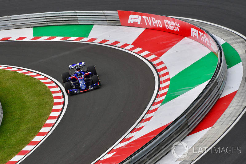 11. Brendon Hartley, Scuderia Toro Rosso STR13