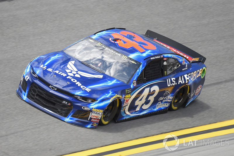 Darrell Wallace Jr., Richard Petty Motorsports, Chevrolet Camaro U.S. Air Force
