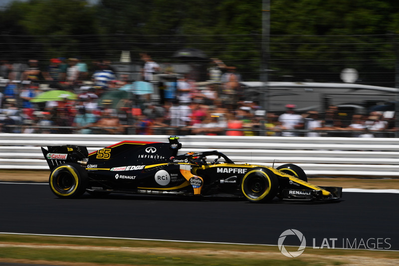 Abandon : Carlos Sainz (Renault)