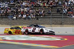Brad Keselowski, Team Penske, Ford Fusion Discount Tire Joey Logano, Team Penske, Ford Fusion Shell Pennzoil