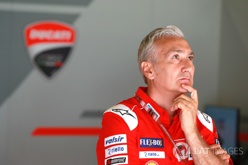 Davide Tardozzi, Team manager de Ducati