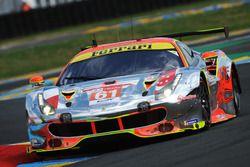 #61 Clearwater Racing Ferrari 488 GTE: Weng Sun Mok, Keita Sawa, Matthew Griffin