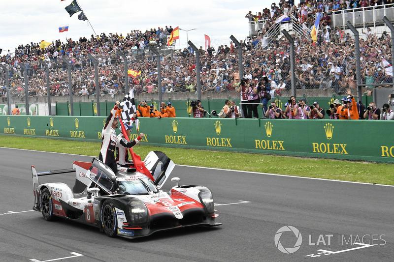 2018: Toyota - Sébastien Buemi, Kazuki Nakajima e Fernando Alonso