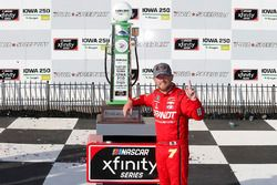 Justin Allgaier, JR Motorsports, Chevrolet Camaro BRANDT Professional Agriculture celebrates in victory lane