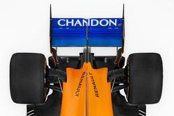 McLaren MCL33 detail achtervleugel