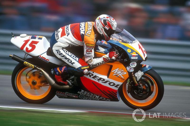 1998: Sete Gibernau - GP do Japão - 10º lugar