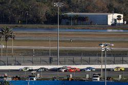 Tyler Reddick, JR Motorsports, BurgerFi Chevrolet Camaro, Ryan Truex, Kaulig Racing, Bar Harbor / Se
