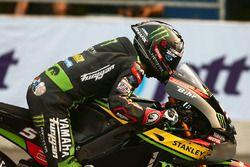 Johann Zarco, Monster Yamaha Tech 3, prova la partenza